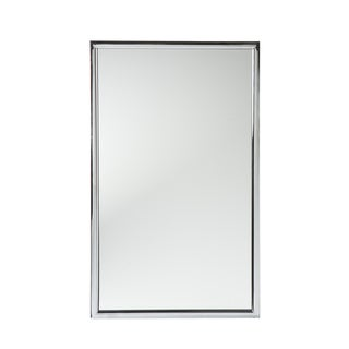 upton home elton chrome wall mirror free shipping today overstockcom 13108119
