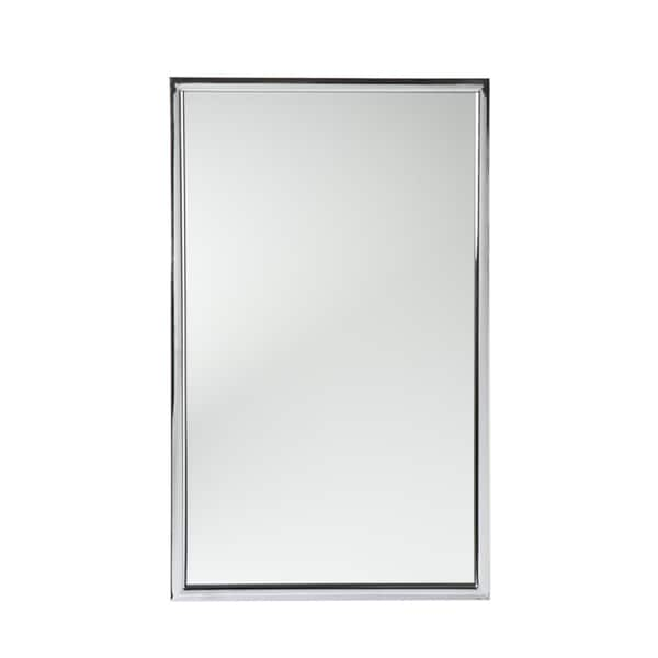 Upton Home Elton Chrome Wall Mirror