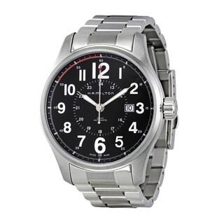 Hamilton Men's 'Khaki Field Officer' Stainless Steel Automatic Watch