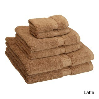 "Superior Egyptian Cotton 900 GSM Luxurious Absorbent 6-piece Towel Set - 20"" x 30""/30"" x 55""/13"" x 13"""