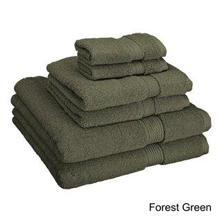 Superior Luxurious Absorbent 900 GSM Combed Cotton 6-piece Towel Set (More options available)