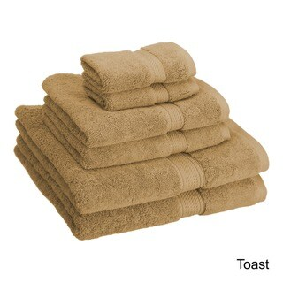 "Superior Egyptian Cotton 900 GSM Luxurious Absorbent 6-piece Towel Set - 20"" x 30""/30"" x 55""/13"" x 13"""