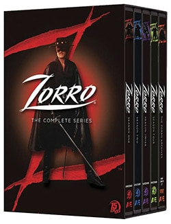 Zorro: The Complete Series (DVD)