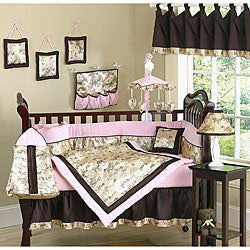 Sweet Jojo Designs Abby Rose 9 Piece Girl Crib Bedding Set Free Shipping Today Overstock Com