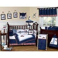 Sweet Jojo Designs Aviator 9-piece Crib Bedding Set