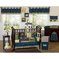 Sweet Jojo Designs Construction 9-piece Crib Bedding Set
