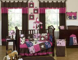 Sweet Jojo Designs Cowgirl 9-piece Crib Bedding Set