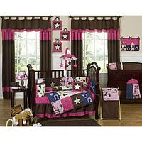 Sweet Jojo Designs Cowgirl 9-piece Crib Bedding Set