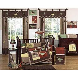 Sweet Jojo Designs Dinosaur 9-piece Crib Bedding Set - Thumbnail 0