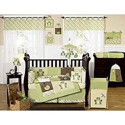 Sweet Jojo Designs Leap Frog 9-piece Crib Bedding Set