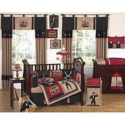 Sweet Jojo Designs Pirate 9-piece Crib Bedding Set