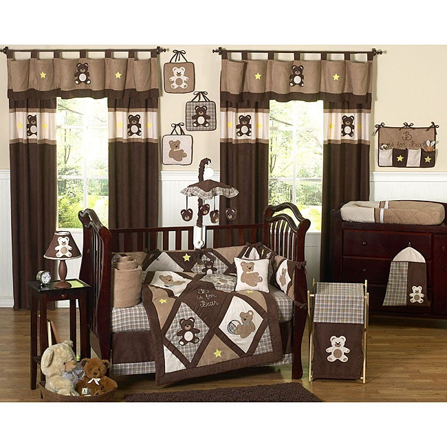 Shop Sweet Jojo Designs Teddy Bear 9 Piece Crib Bedding