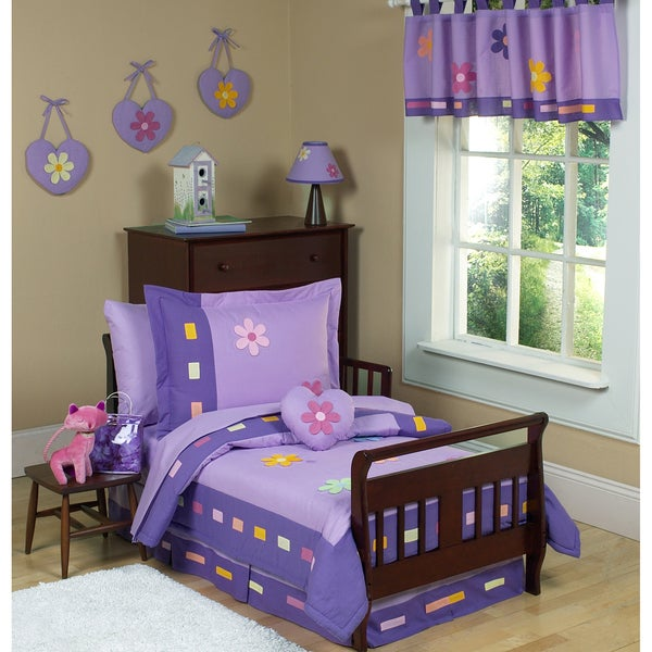 Sweet JoJo Designs Danielle's Daisies 5-piece Toddler Girl's Bedding Set