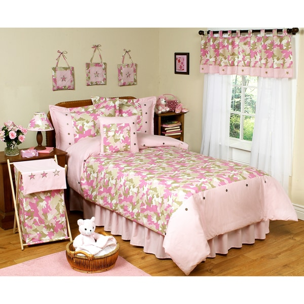 pink camo bedroom ideas sweet jojo designs pink camouflage 4 s 16726