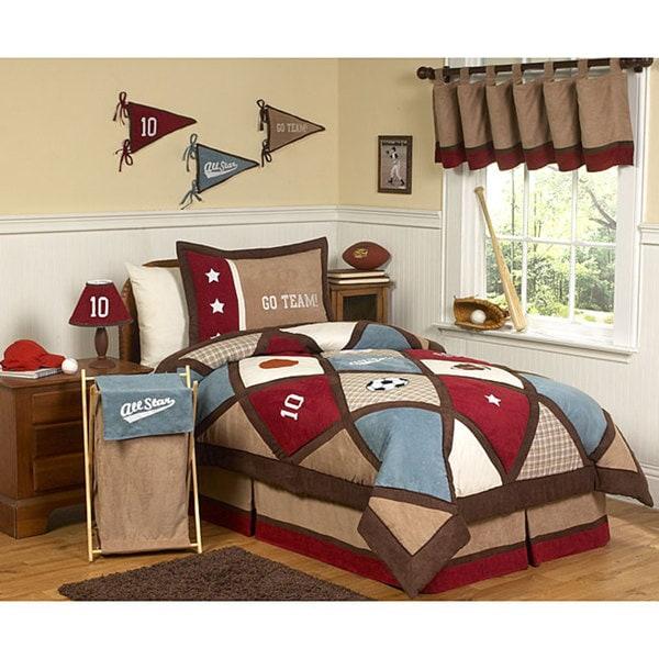 Sweet JoJo Designs All Star Comforter Set