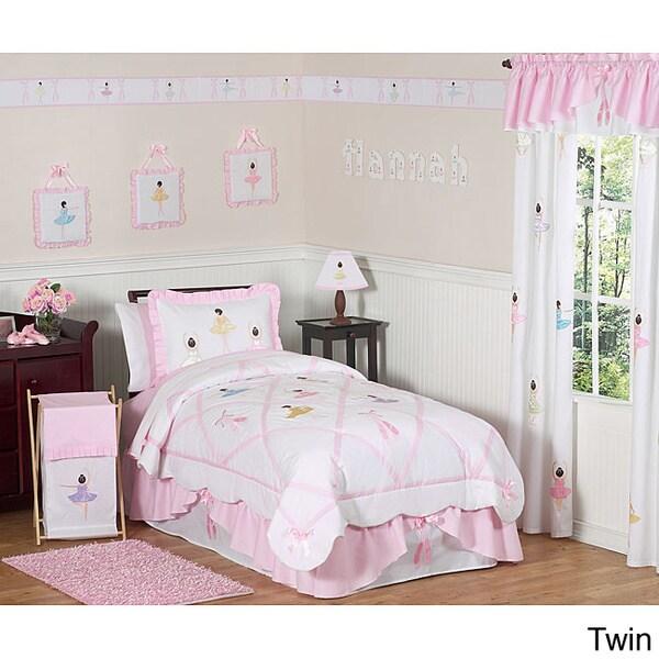 Sweet JoJo Designs Pink Comforter Set