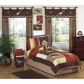 Sweet JoJo Designs Brown 4-piece Twin-size  Comforter Set