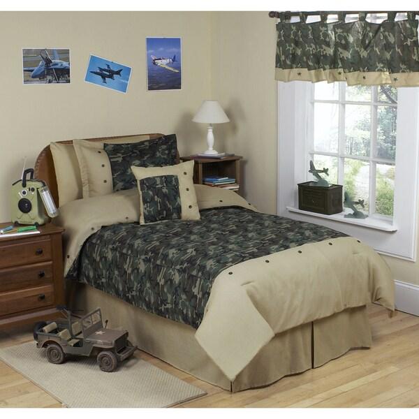 Sweet JoJo Designs Green 3-piece Full/ Queen-size Comforter Set