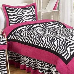 Shop Sweet Jojo Designs Pink Black White Zebra Print 3