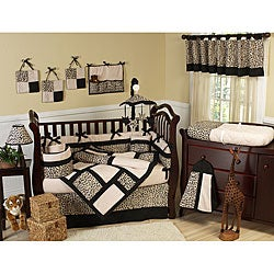 Sweet Jojo Designs Animal Safari 9-piece Crib Bedding Set