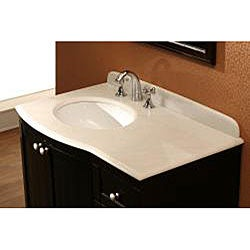 OVE Decors Brenda 37-inch Single Sink Bathroom Vanity with Marble Top - Thumbnail 1