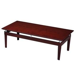 Mayline Napoli Wood Optional-finish Coffee Table
