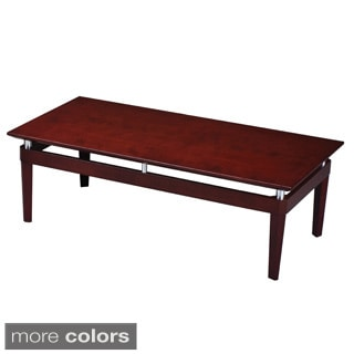 Mayline Napoli Wood Optional-finish Coffee Table