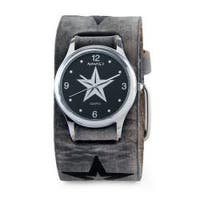 Nemesis Men's Vintage Black Faded Star Watch