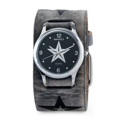 Nemesis Men's Vintage Black Faded Star Watch