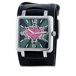 Nemesis Women's Pink Heart Quartz Watch
