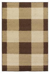 Mandara Brown Shag Rug (8' x 11') - Thumbnail 1