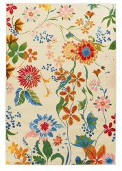 Mandara Ivory Floral Rug (5' x 8') - Thumbnail 1