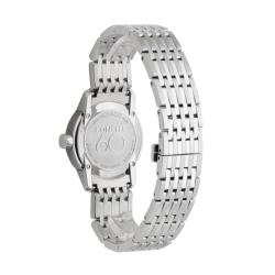 Movado Women's 'Sapphire' Stainless Steel Quartz Diamond Watch