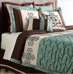 Lush Decor Abigail 8-piece Comforter Set