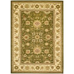 Safavieh Lyndhurst Collection Majestic Sage/ Ivory Rug (9' x 12')