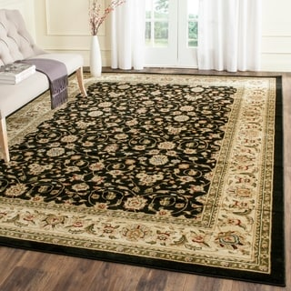 Safavieh Lyndhurst Traditional Oriental Black/ Ivory Area Rug (8' 11 x 12' rectangle)