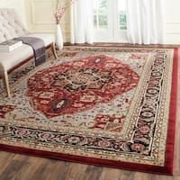 Safavieh Lyndhurst Traditional Oriental Ivory/ Red Rug - 8'11 x 12'
