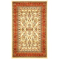 Safavieh Lyndhurst Traditional Oriental Ivory/ Rust Rug (8' 11 x 12' rectangle)