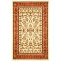 Safavieh Lyndhurst Traditional Oriental Ivory/ Rust Rug (8' 11 x 12' rectangle)