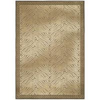Safavieh Paradise Tiger Brown Viscose Transitional Rug - 4' x 5'7