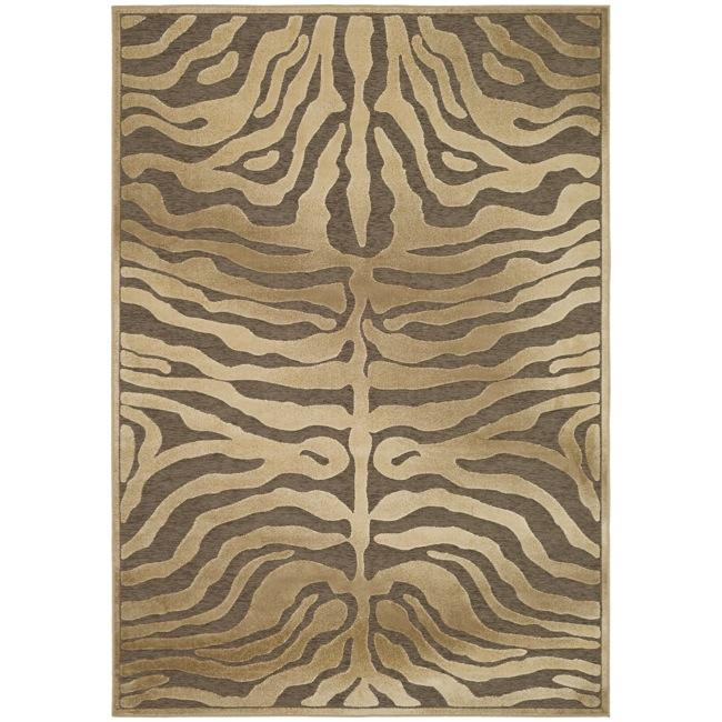 Safavieh Paradise Tiger Brown Viscose Rug - 8' x 11'2