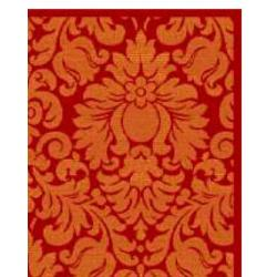 Safavieh Porcello Fine-spun Damask Red/ Rust Area Rug (8' x 11' 2 ) - Thumbnail 1