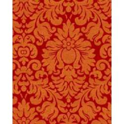 Safavieh Porcello Fine-spun Damask Red/ Rust Area Rug (8' x 11' 2 ) - Thumbnail 2