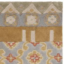 Safavieh Handmade Rodeo Drive Bohemian Collage Multicolored Wool Rug (3'6 x 5'6) - Thumbnail 1