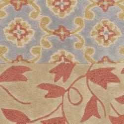 Safavieh Handmade Rodeo Drive Bohemian Collage Multicolored Wool Rug (3'6 x 5'6) - Thumbnail 2
