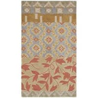 Safavieh Handmade Rodeo Drive Bohemian Collage Multicolored Wool Rug - 3'6' x 5'6'