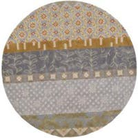 "Safavieh Handmade Rodeo Drive Bohemian Collage Multicolored Wool Rug - 5'9"" x 5'9"" round"