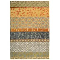 Safavieh Handmade Rodeo Drive Bohemian Collage Multicolored Wool Rug - Multi - 7'6 x 9'6
