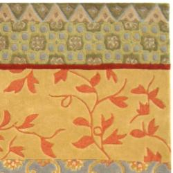 Safavieh Handmade Rodeo Drive Bohemian Collage Multicolored Wool Rug (8' x 11') - Thumbnail 1