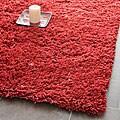 Safavieh Classic Ultra Handmade Rust Shag Rug - 8'6 x 11'6